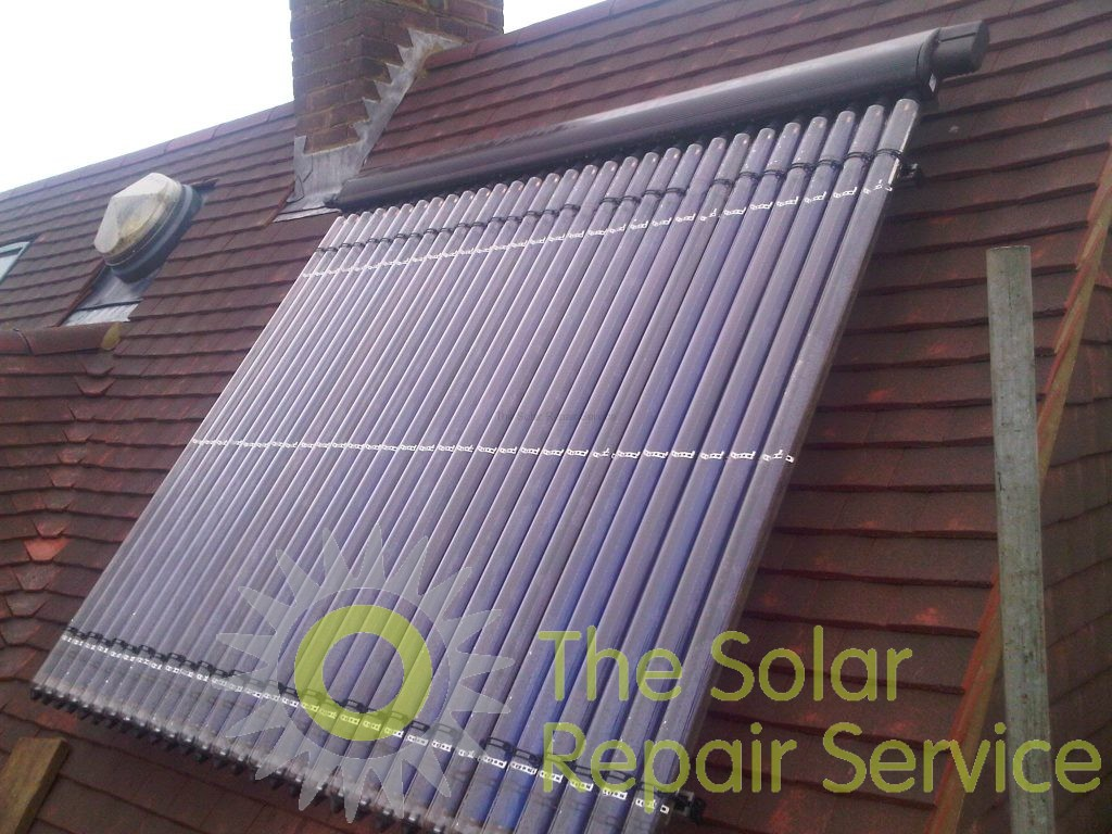 Solar Panel Replaced After Re Roofing The Solar Repair