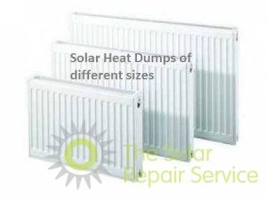 Various radiator sizes