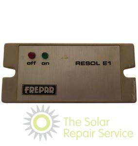 Resol E1 Frepar 100 Solar Controller The Solar Repair