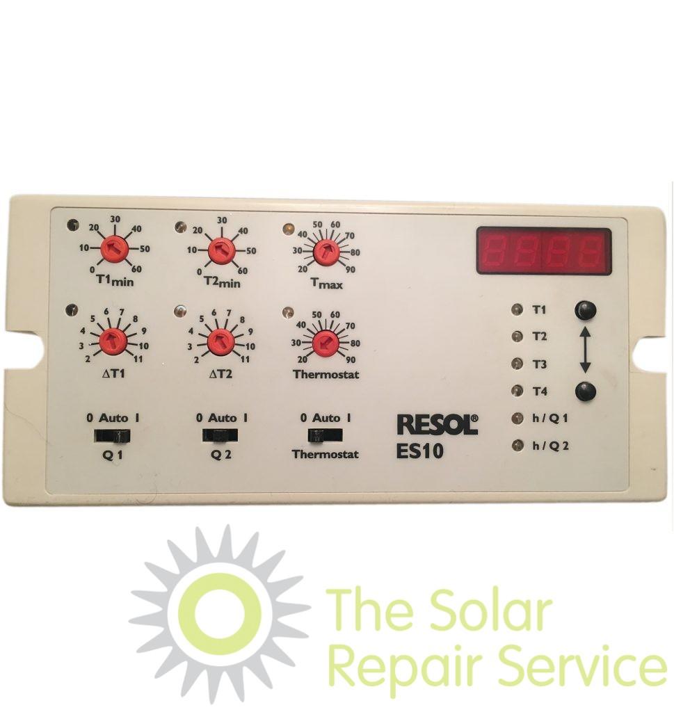 Resol Es10 Solar Controller The Solar Repair Service